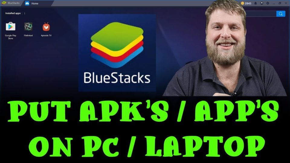 How To Put Apk's / App's Onto A Pc / Laptop - Install the