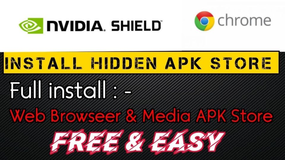 installing apk on nvidia shield