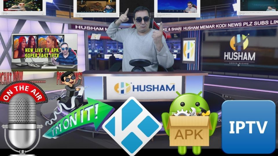 HUSHAM ON AIR - KODI APK IPTV MOVES TV SHOWS ANDROID FIRESTICK