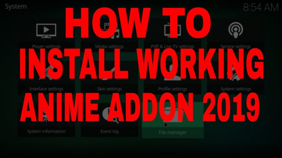 HOW TO INSTALL THE BEST WORKING KODI ANIME DUBBED ANIME AND