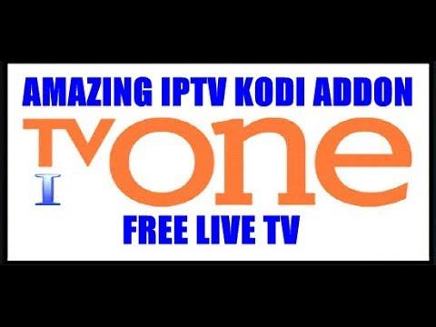 NEW UPDATE TV ONE ADDON _ LIVE IPTV ON KODI ADDON REVIEW