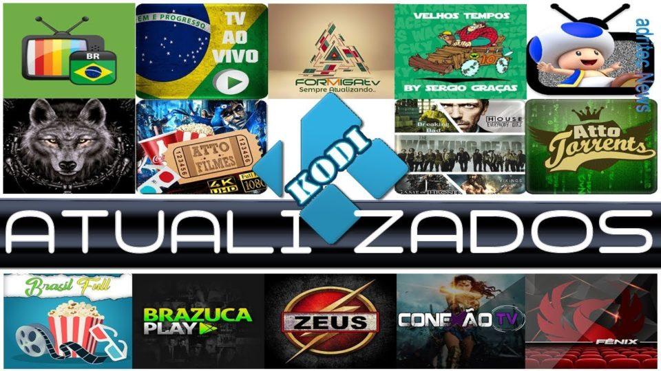NOVO PACOTE DE ADD-ONS ATUALIZADOS! KODI! - Install the