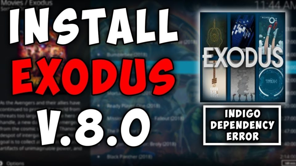 kodi install exodus version 8