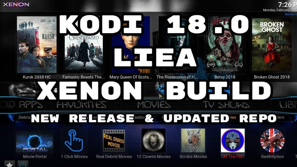 BEST KODI 18 BUILD FEBRUARY 2019 MUST TRY ON ALL DEVICES ( XENON