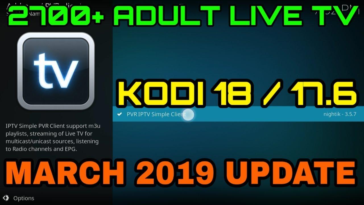 Tv live adult