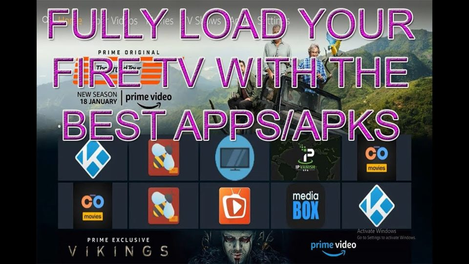 How To Fully Load Your Fire TV, The Very Best Apps/Apks - How To