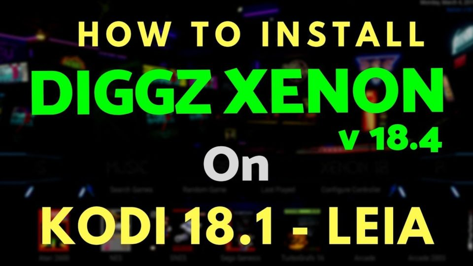 DIGGZ XENON 18 4 LEIA Build from DIGGZ on CHEF WIZARD - Install the