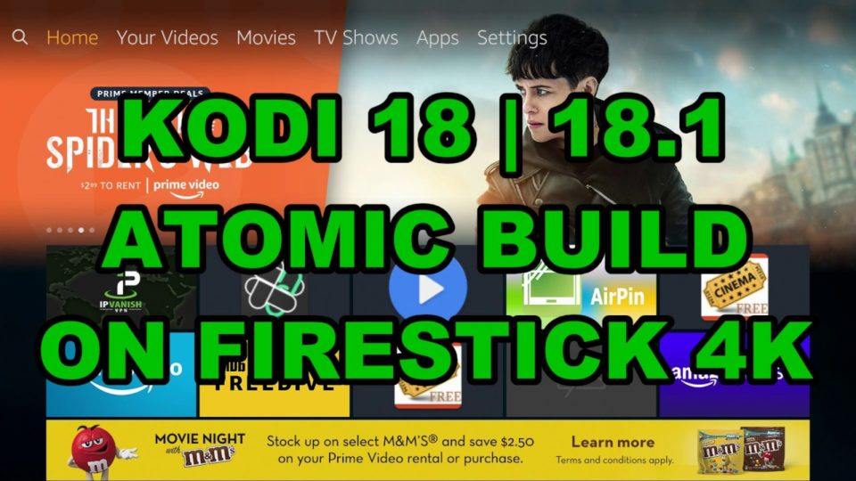 how to use atom vpn on firestick