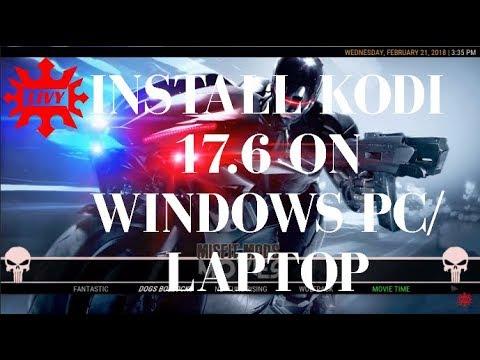HOW TO INSTALL KODI ON WINDOWS 10 PC/LAPTOP BEST KODI BUILD