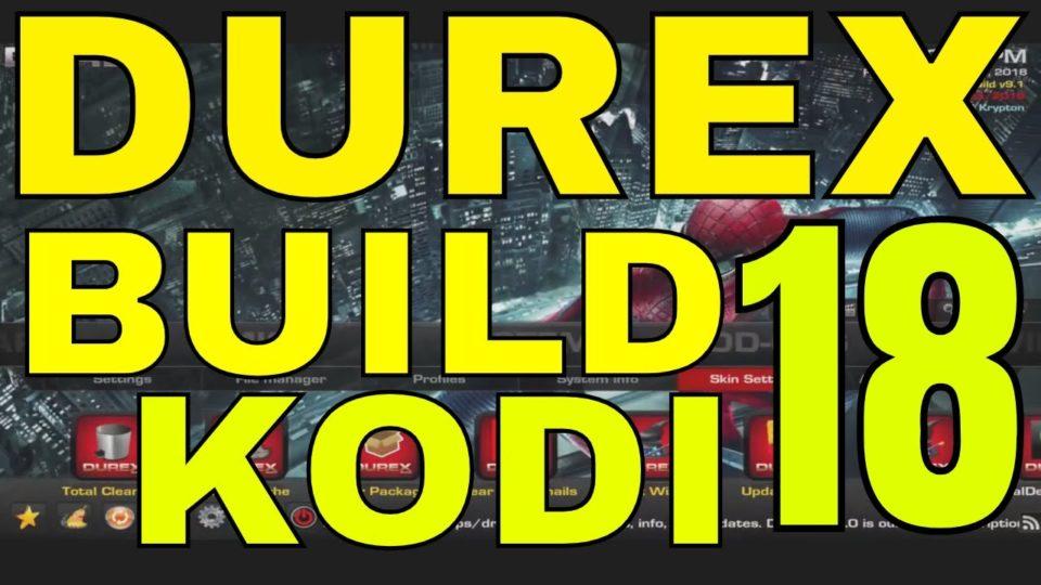 Install durex build firestick | Peatix