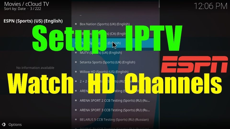 How To Setup/Install PVR IPTV Simple Client On Kodi 17/17 1