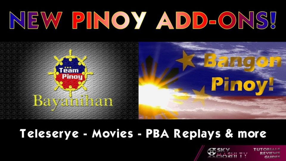 FILIPINOS WAKE UP! - 2 brand new Kodi Add-ons for you