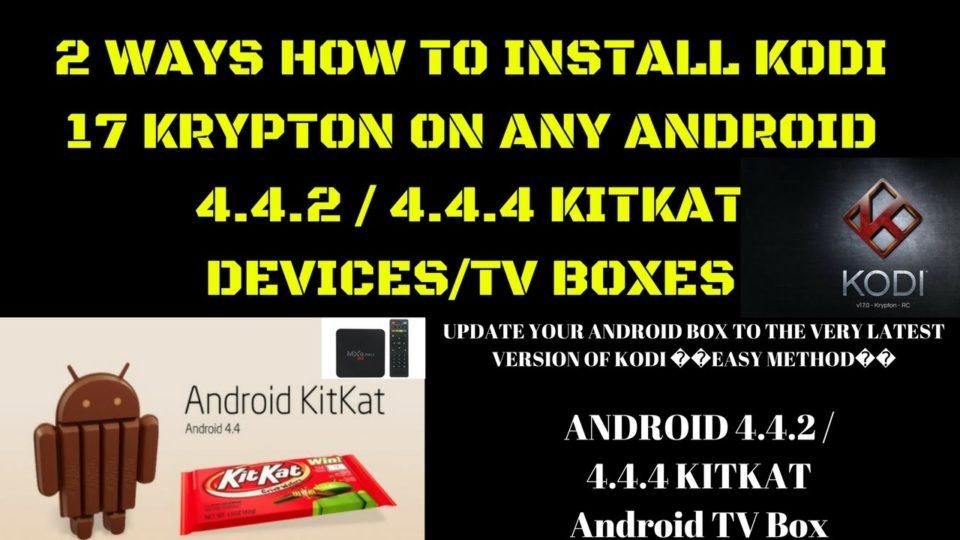 kodi krypton apk for android 4.4.2