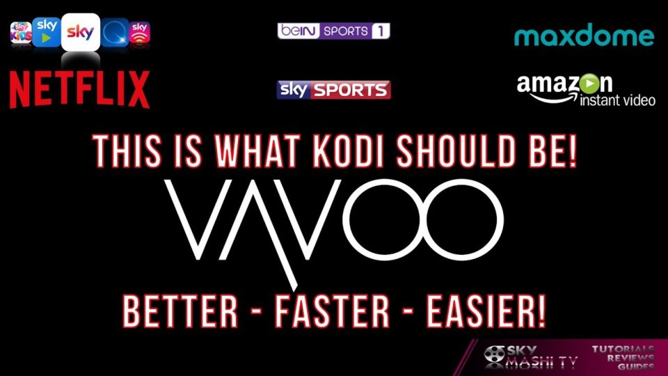 Vavoo! German Kodi Fork with english Support! - Works great