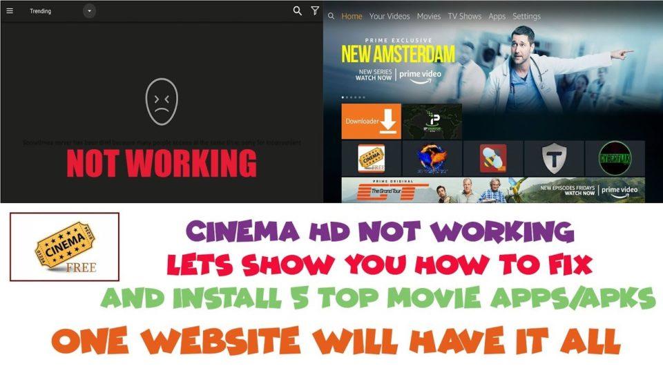 install cinema apk kodi