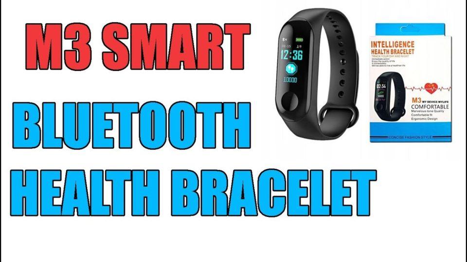 Rce M3 Smart Bracelet Unbox — Minutemanhealthdirect