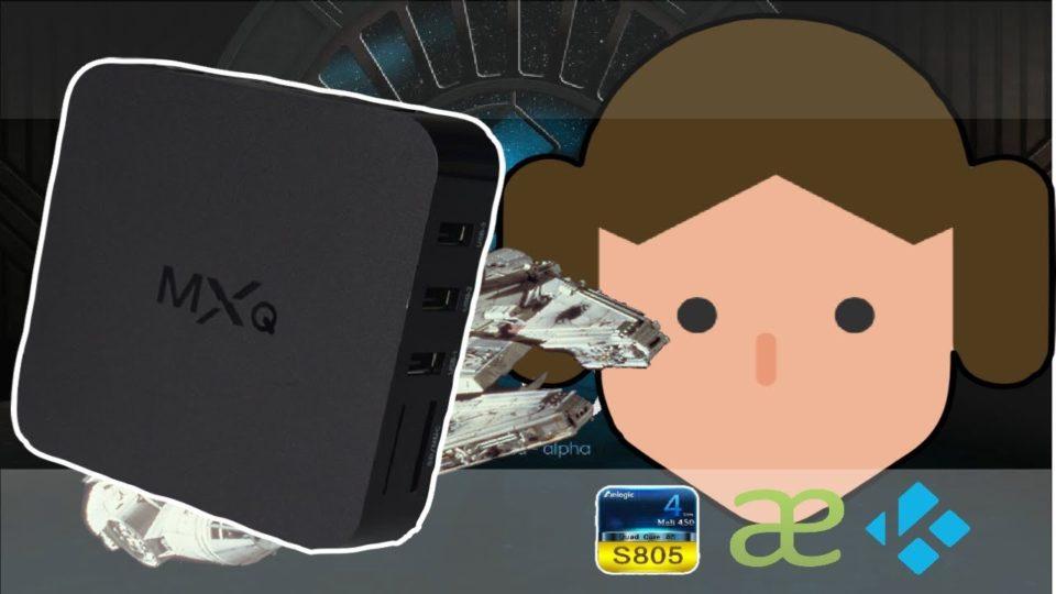 MXQ S805 TV Box Running KODI 18 2 LEIA: Amlogic S805 and S812 KODI
