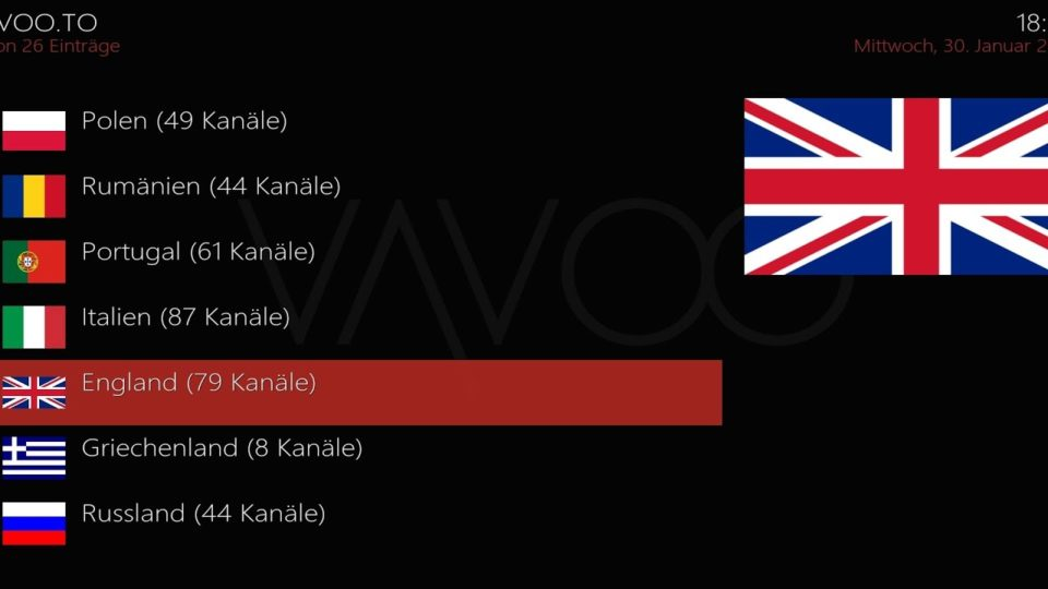 England iptv [android apk & download] - Install the Latest Kodi