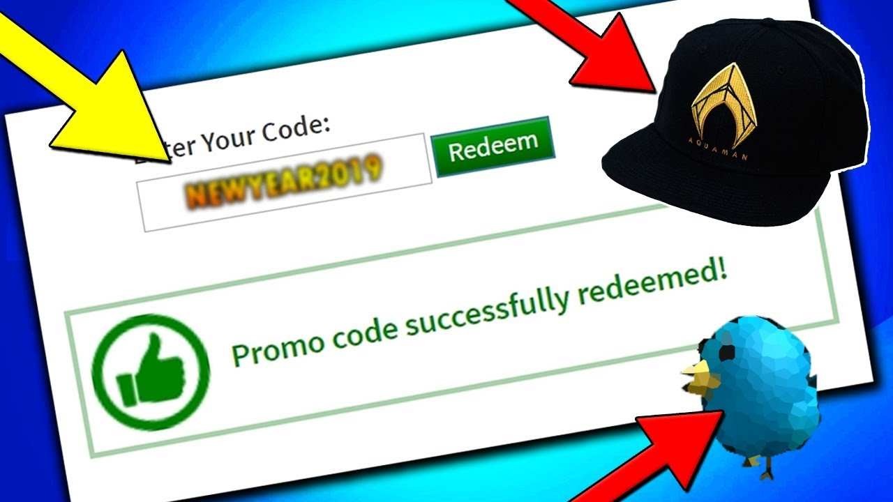 New January All Working Promo Codes On Roblox 2019 Roblox Promo