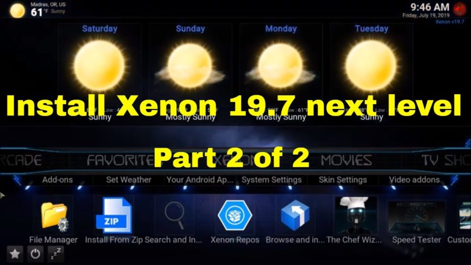 Diggz New Install Xenon 19 7 next level Part 2 of 2 - Install the