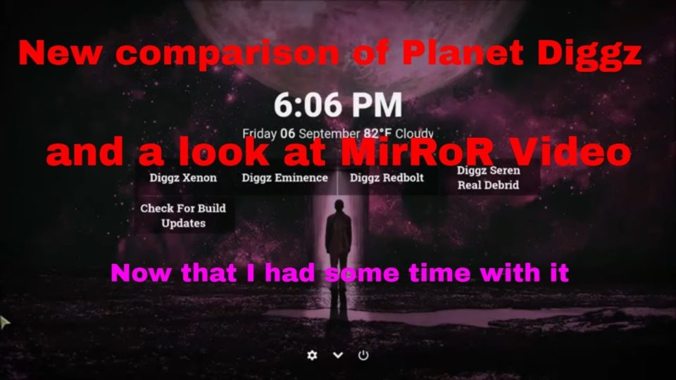 New comparison of Planet Diggz and a look at MirRoR Video